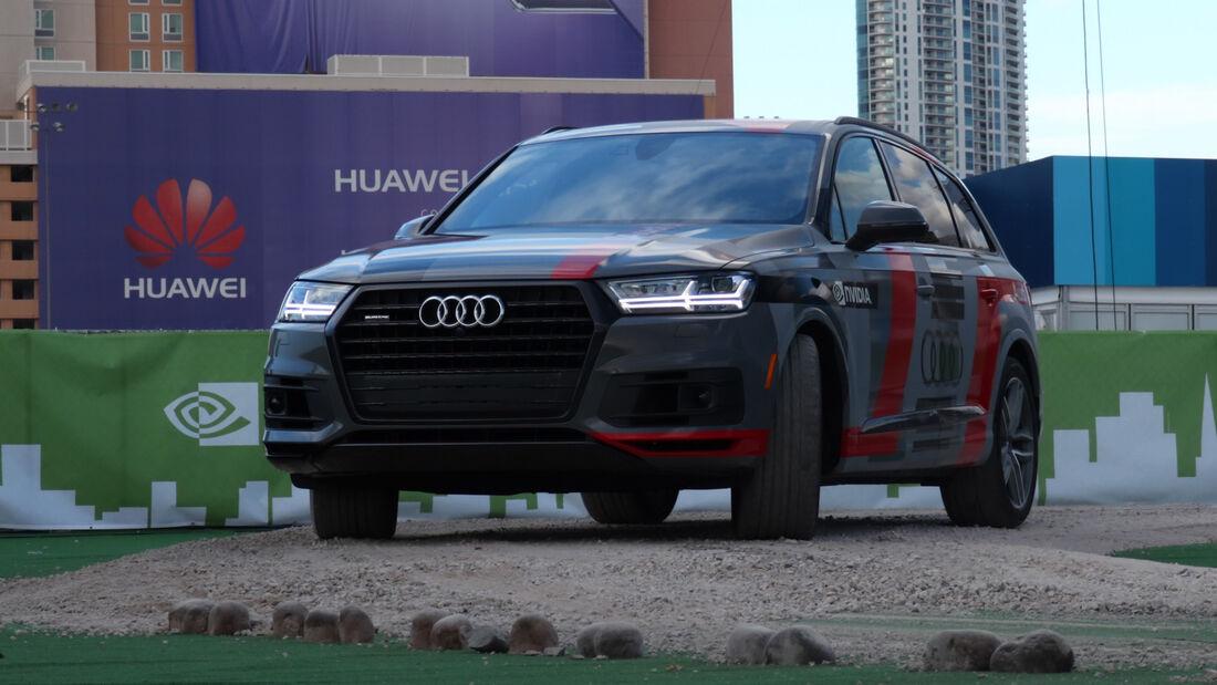 Audi Q7 Nvidia autonom Concept CES
