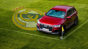 Audi Q7 Real Madrid Fußball
