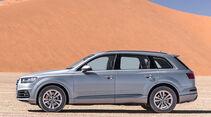 Audi Q7, Seitenansicht