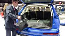 Audi Q7 Sitzprobe NAIAS