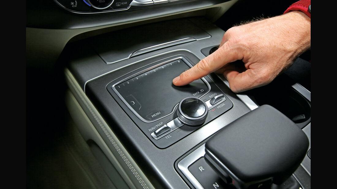 Audi Q7, Touchpad