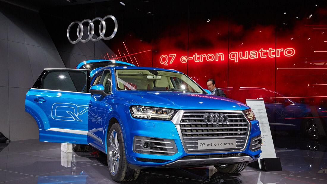 Audi Q7 e-tron quattro Genf