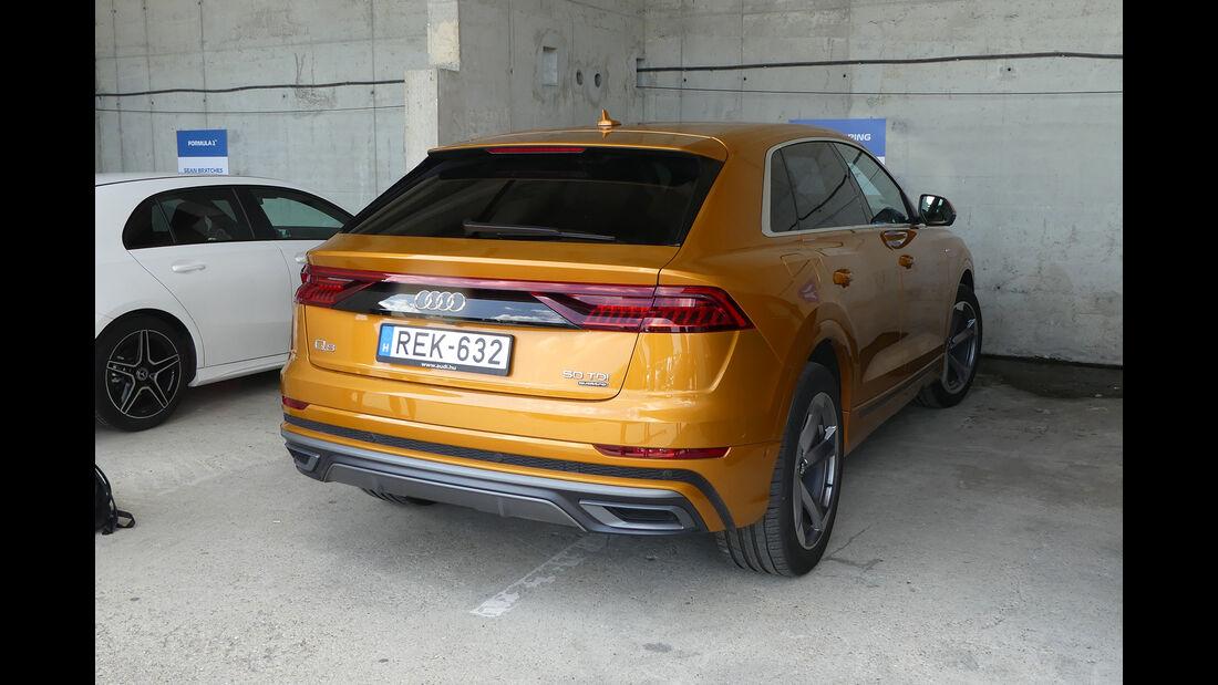 Audi Q8 5,0 TDI - Dienstwagen - F1-Piloten 2019