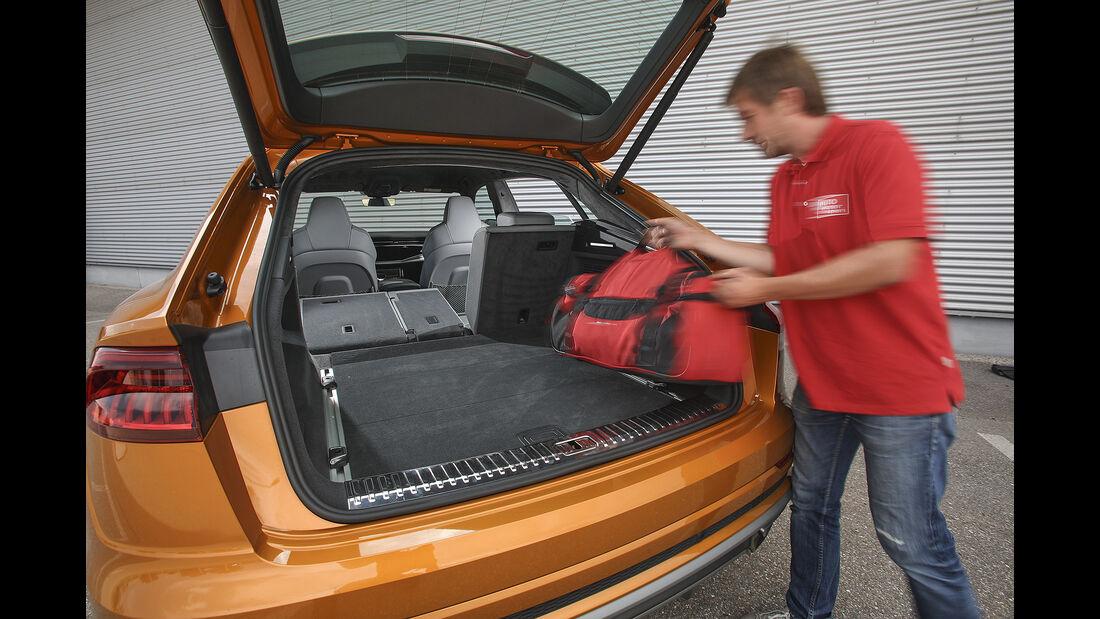 Audi Q8 50 TDI Quattro, Kofferraum