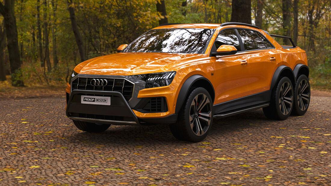 Audi Q8 6X6 Concept Design