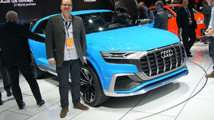 Audi Q8 Sitzprobe