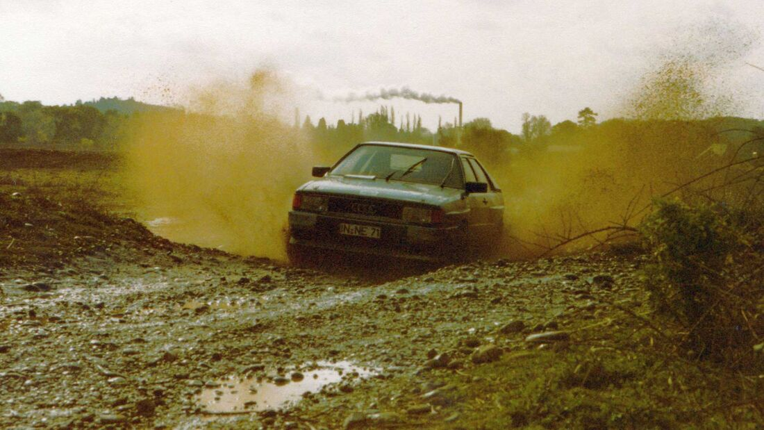 Audi Quattro (1980) Rallye Erprobung Miramas