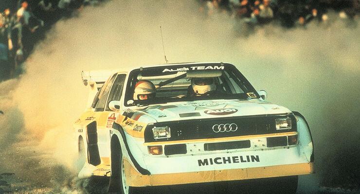 Audi Quattro 1985