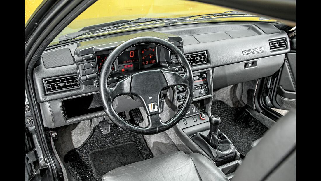 Audi Quattro 20V, Cockpit