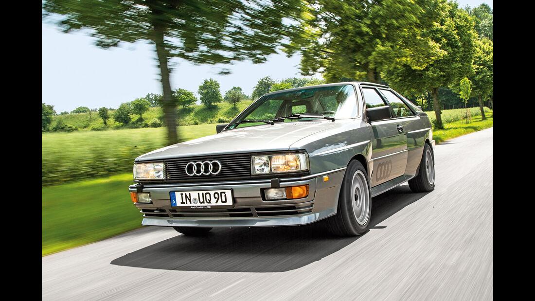 Audi Quattro 20V, Frontansicht