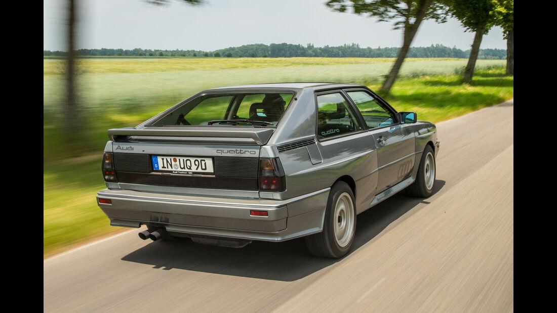 Audi Quattro 20V, Heckansicht