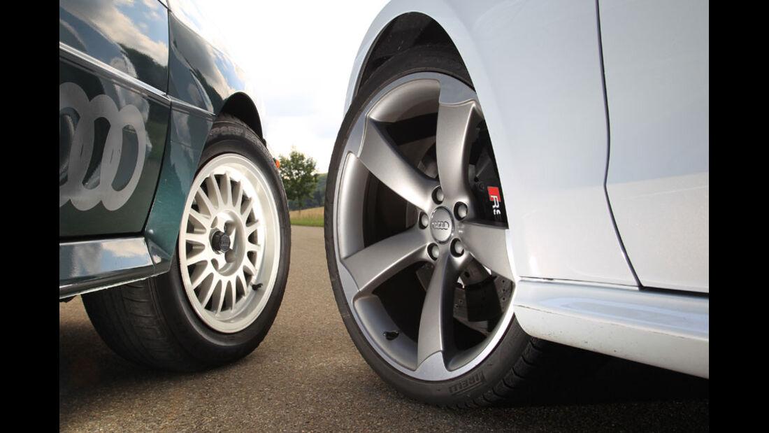 Audi Quattro, Audi RS5, Räder, Felgen