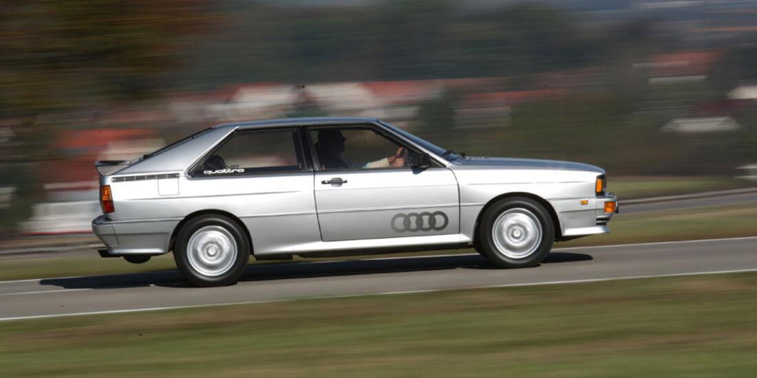 Audi Quattro, Baujahr 1980