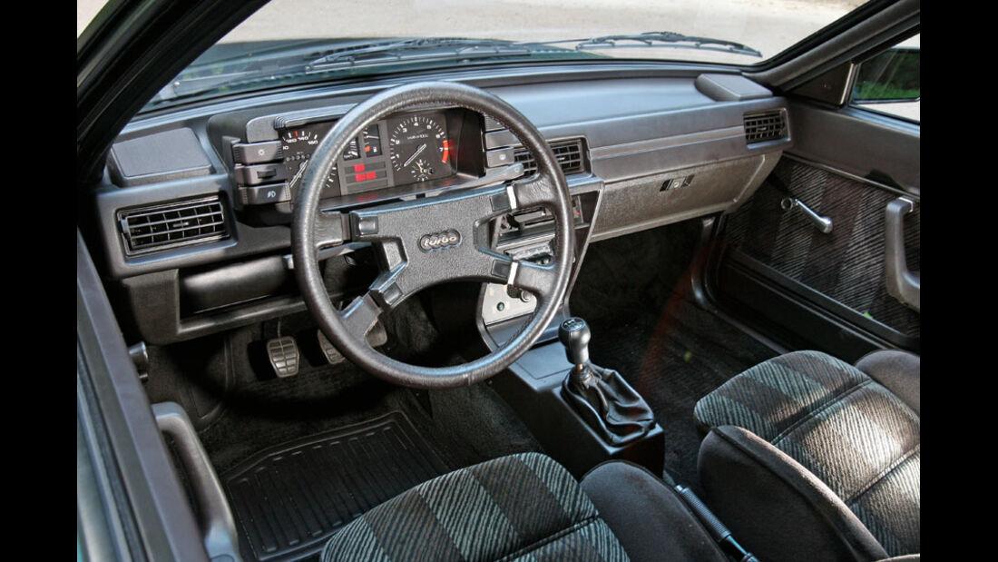 Audi Quattro, Cockpit