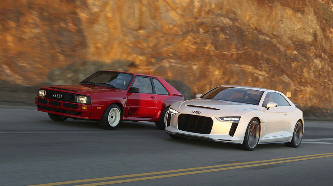 Audi Quattro Concept, Audi Sport Quattro