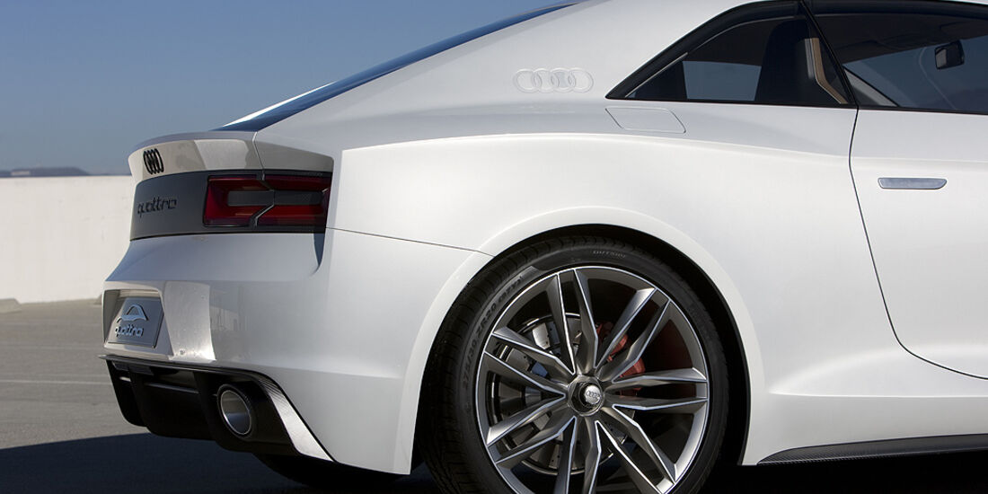 Audi Quattro Concept, Heck, Felge