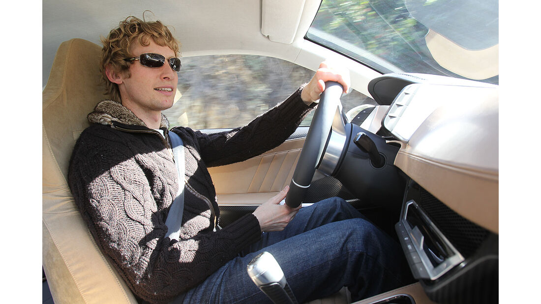 Audi Quattro Concept, Innenraum, Marcus Peters