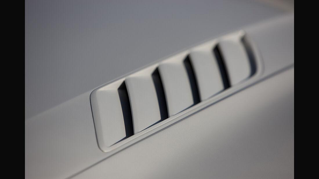Audi Quattro Concept, Luftauslass, Motorhaube