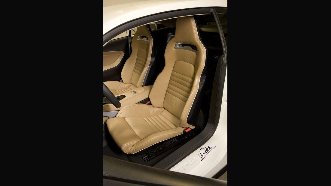 Audi Quattro Concept, Sitze
