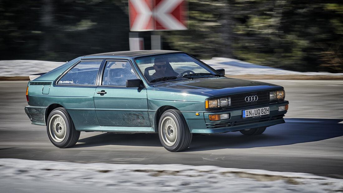 Audi Quattro, Exterieur