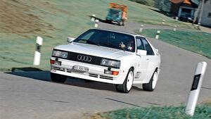 Audi Quattro, Front
