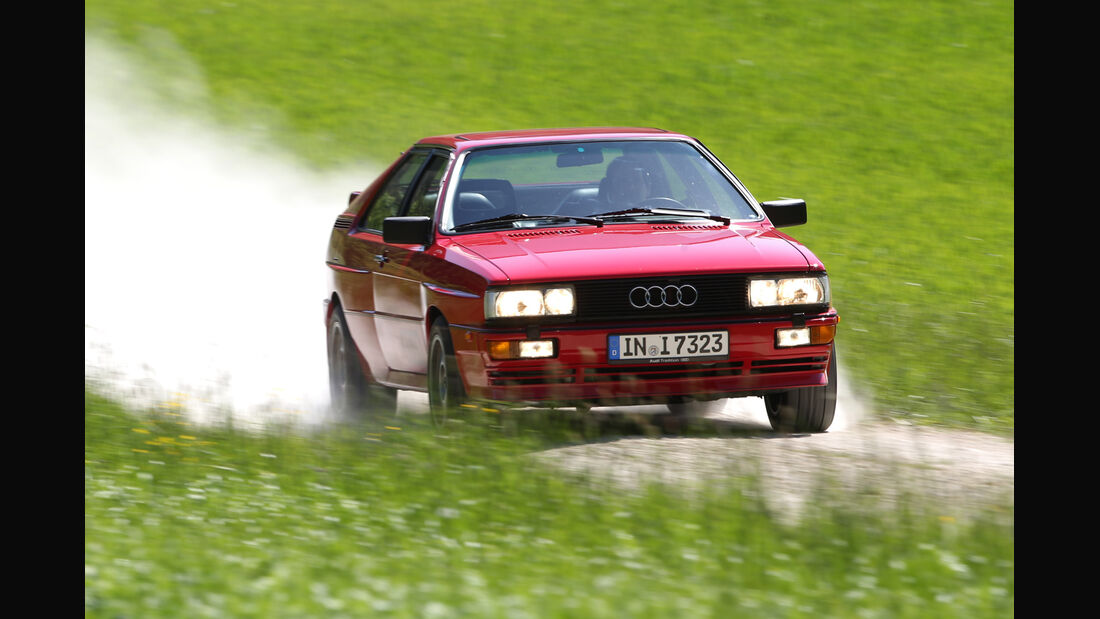 Audi Quattro, Frontansicht