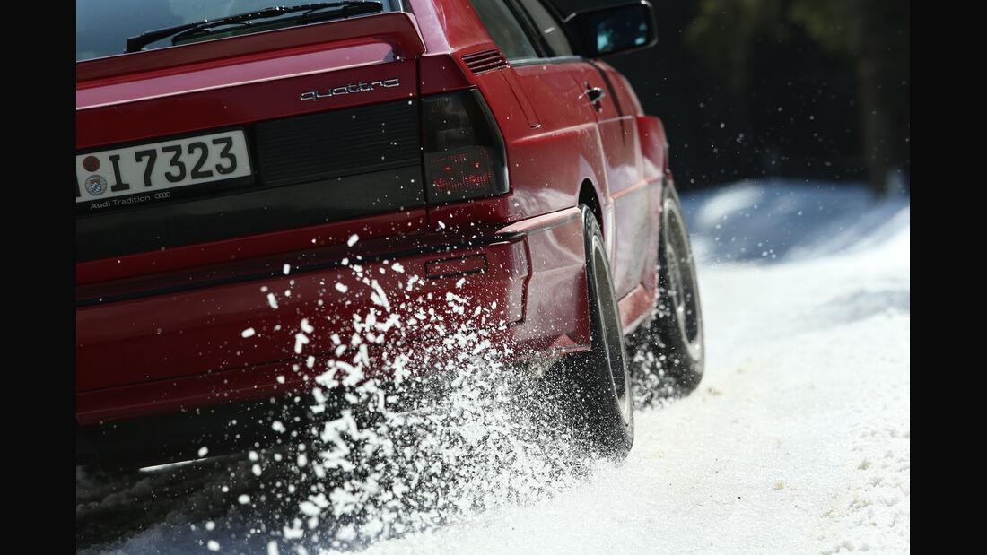 Audi Quattro, Heckleuchte