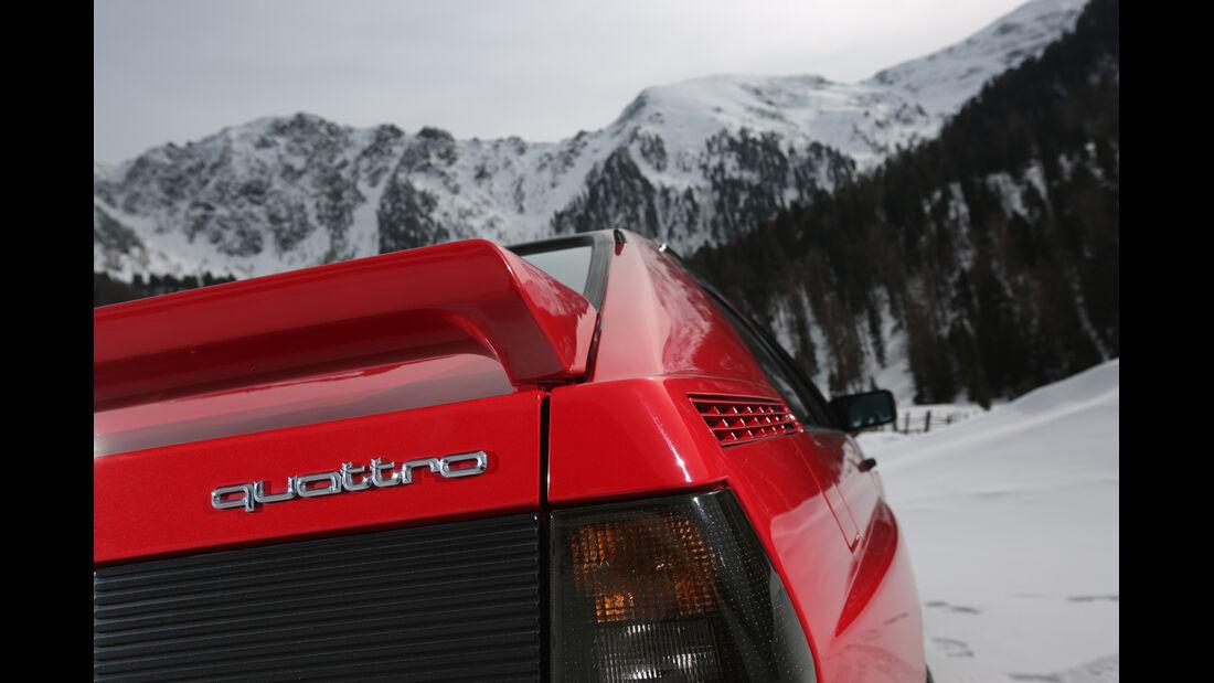 Audi Quattro, Heckspoiler