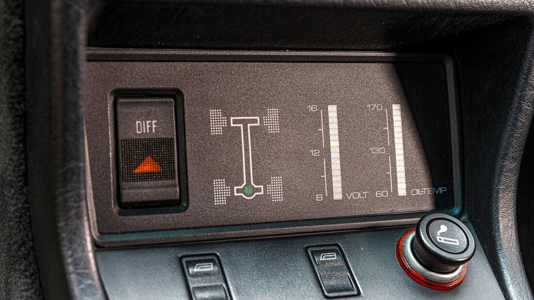 Audi Quattro, Interieur