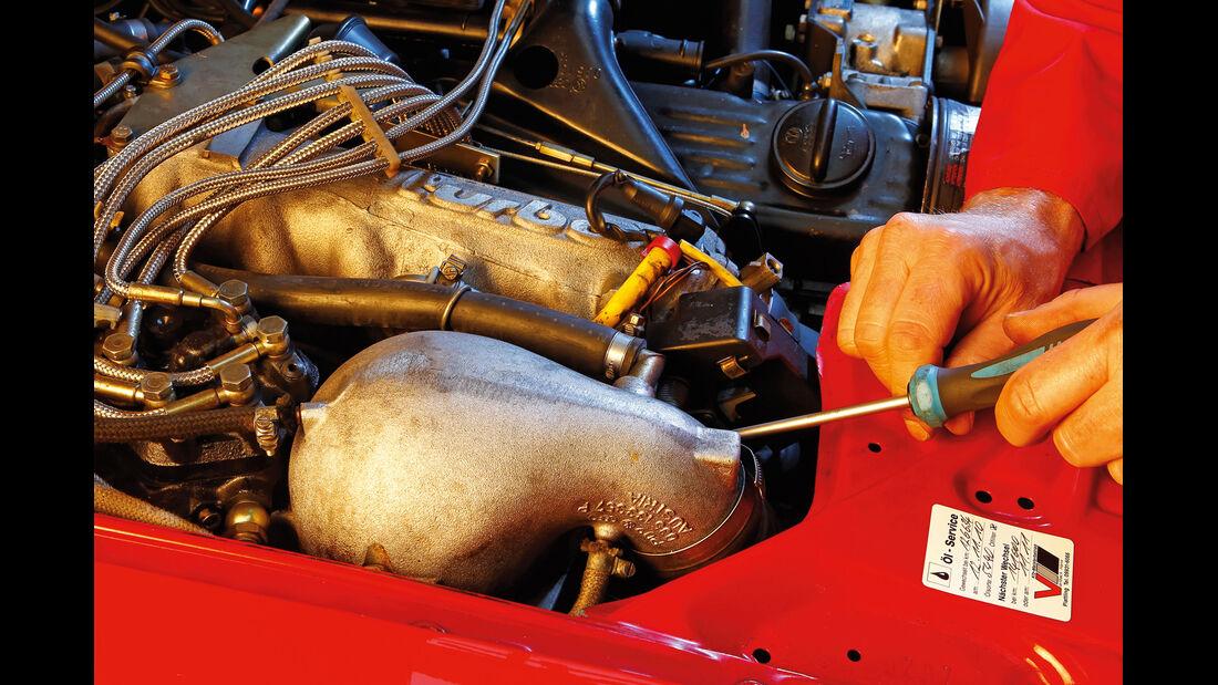 Audi Quattro, Luftfilter