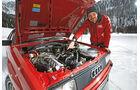 Audi Quattro, Motor