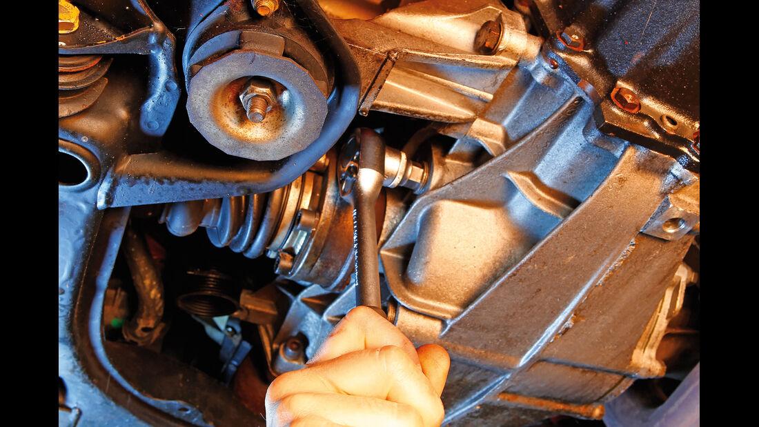 Audi Quattro, Ölstand