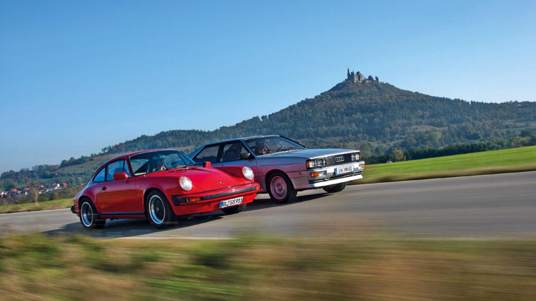Audi Quattro, Porsche 911 SC