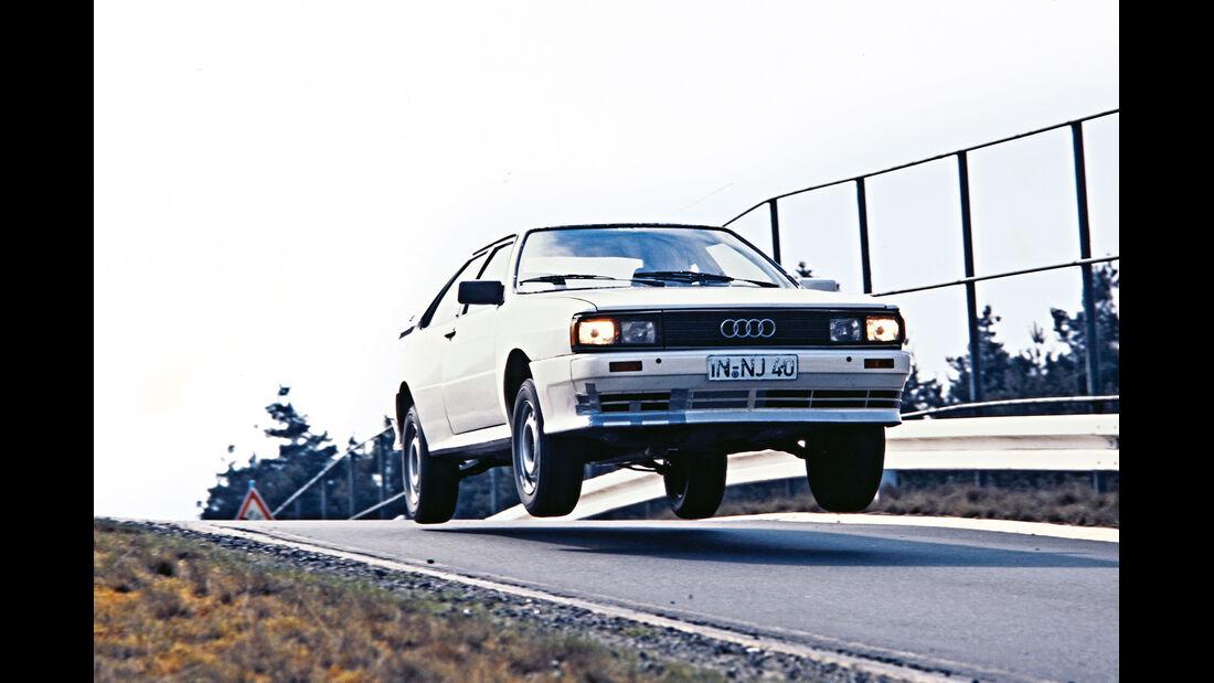 Audi Quattro, Prototyp