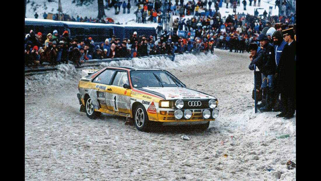 Audi Quattro, Rallye