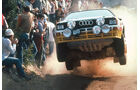 Audi Quattro Rallye, Sprung, Gruppe B
