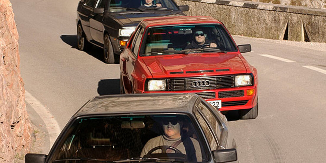 Audi Quattro, Sport Quattro und Quattro 20V