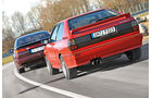Audi Quattro, Subaru SVX, Heckansicht