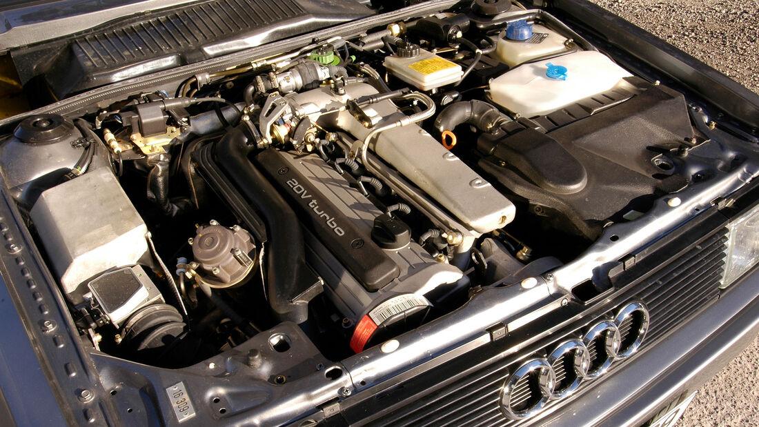 Audi Quattro, Typ 85, (1980-1991), Motor
