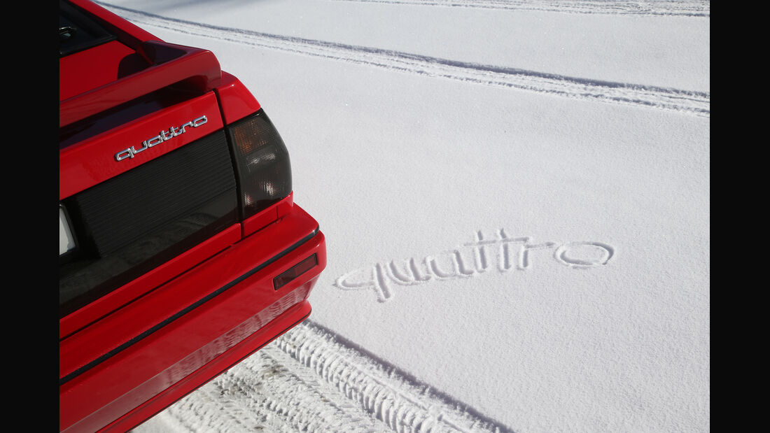 Audi Quattro, Typenbezeichnung