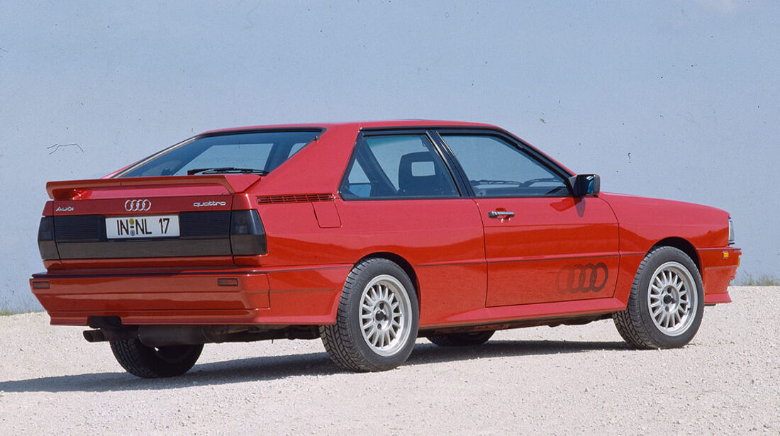 Audi Quattro von 1980
