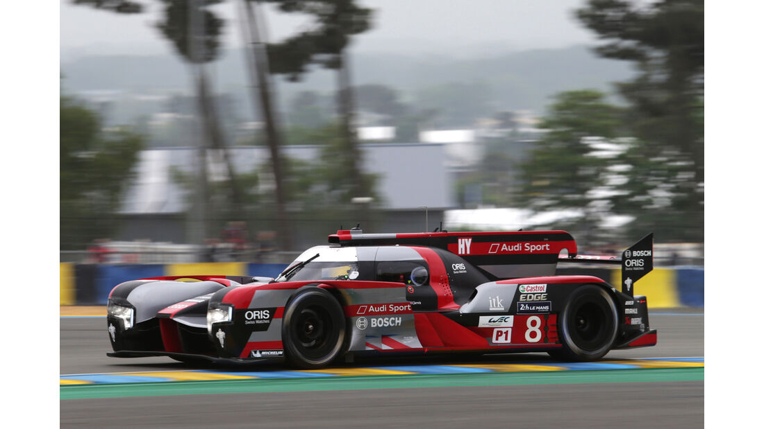 Audi R18 - 24h Le Mans Vortest - 2016