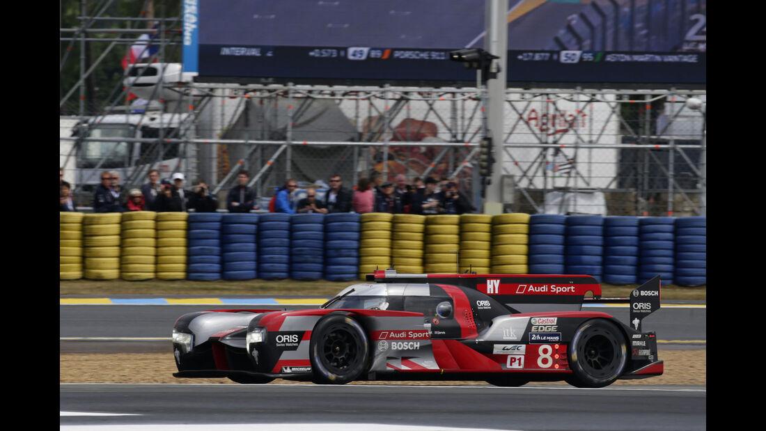 Audi R18 - #8 - 24h Le Mans - Samstag - 18.06.2016