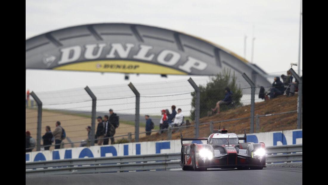 Audi R18 - #8 24h Le Mans - Sonntag - 19.06.2016