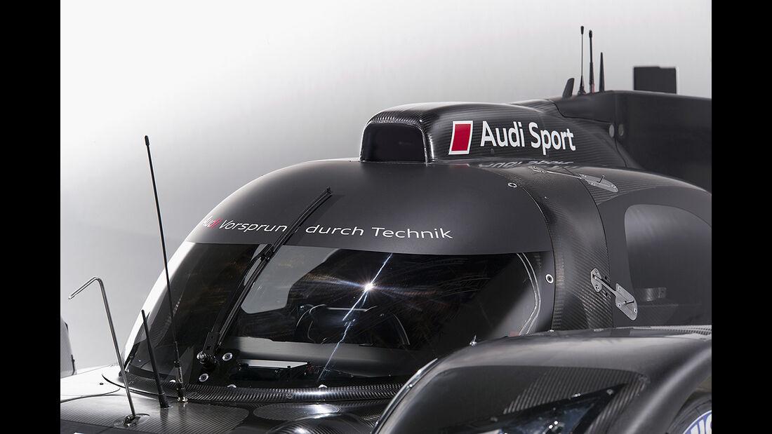 Audi R18, Dach