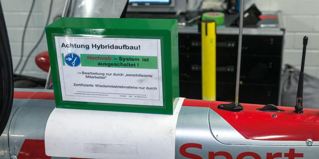 Audi R18 E-Tron Quattro, Batterie