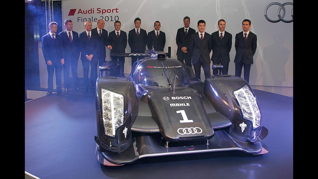 Audi R18, Fahrerkader