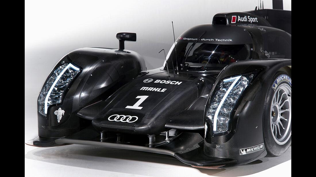 Audi R18, Front