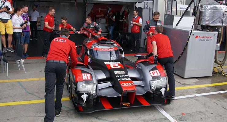 Audi R18 - LMP1 - Startnummer #8 - WEC - Nürburgring - 6-Stunden-Rennen - Sonntag - 24.7.2016