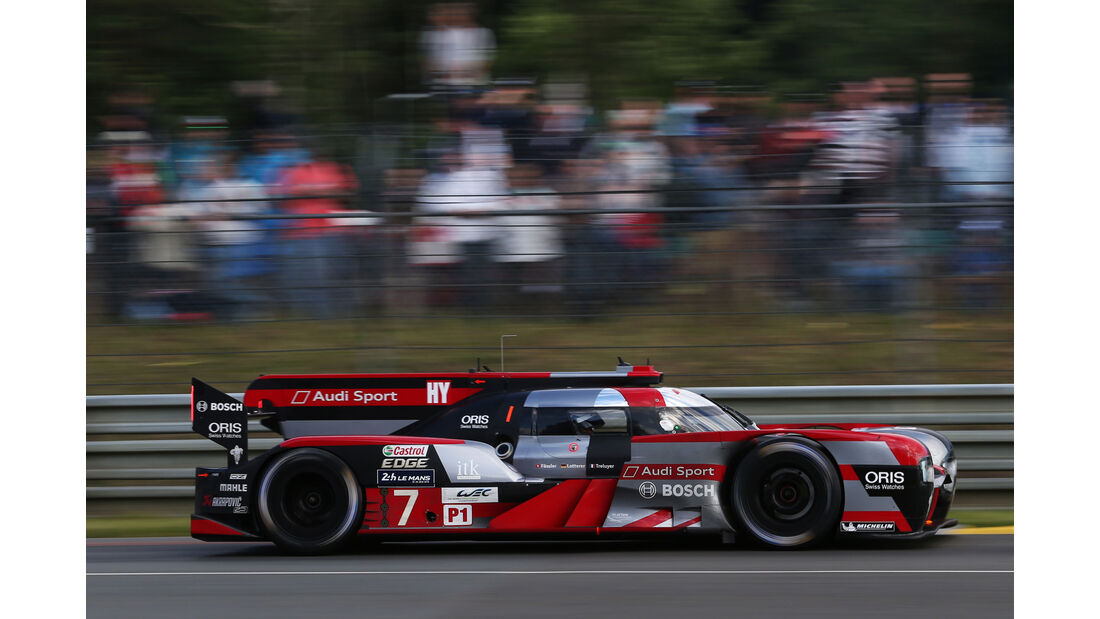 Audi R18 - Le Mans 2016 - Rennwagen
